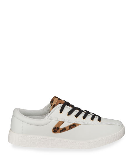 Nylite Plus Suede Low-Top Sneakers