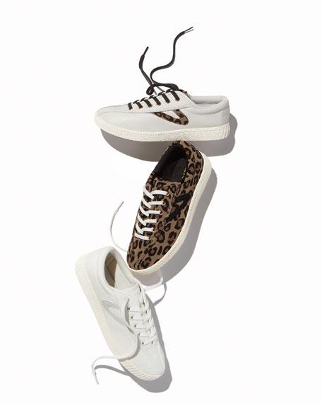 Nylite Plus Galaxy Suede Metallic-Star Low-Top Sneakers