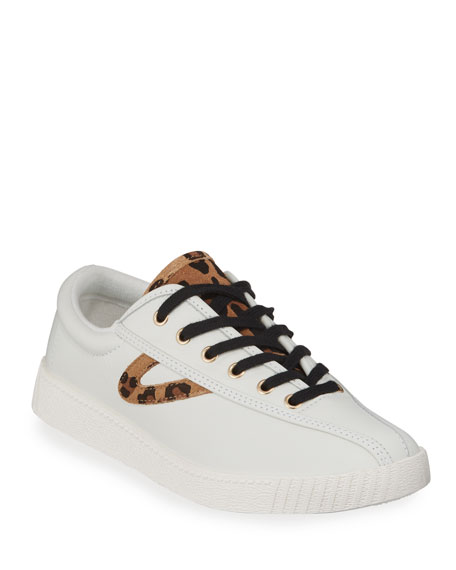 Nylite Plus Suede Low Top Sneakers by Neiman Marcus