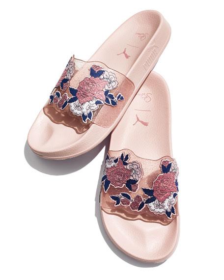 x Sophia Webster Leadcat Candy Princess Flat Sport Slide Sandals