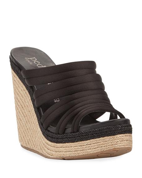 Taciana Two-Tone Wedge Sandal