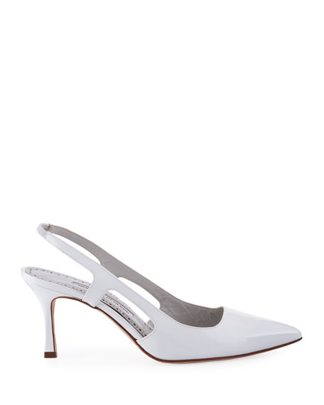 Bretto 70mm Patent Leather Pumps