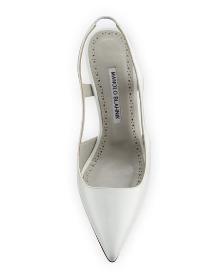Bretto 70mm Patent Leather Pump