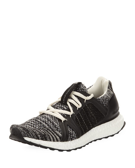 Ultra Boost Parley Knit Trainer Sneakers, Black