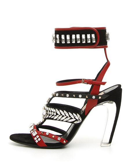 Odissey Runway Embellished Sandal
