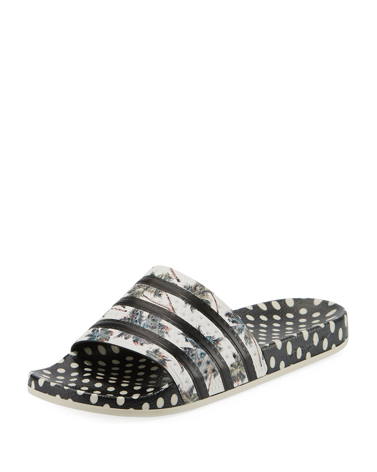 best website 01f60 c08bb AdidasAdilette Multi-Print Slide Sandals