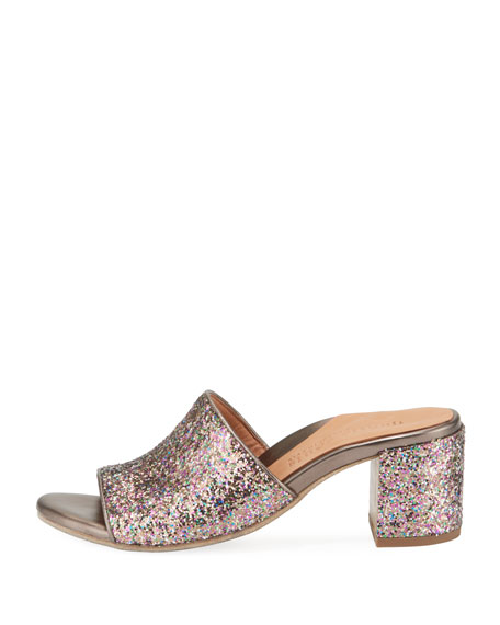 Chantel Glitter Slide Sandal
