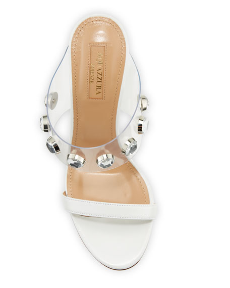Galaxy Embellished Slide Sandal