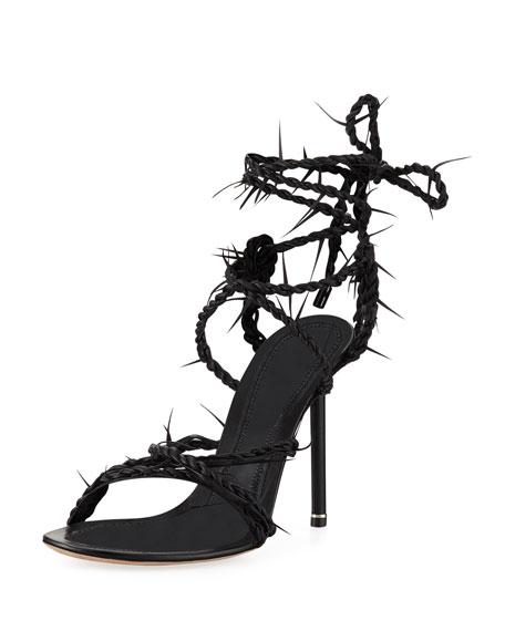 Alexander Wang Lexie Barbwire Runway Sandal