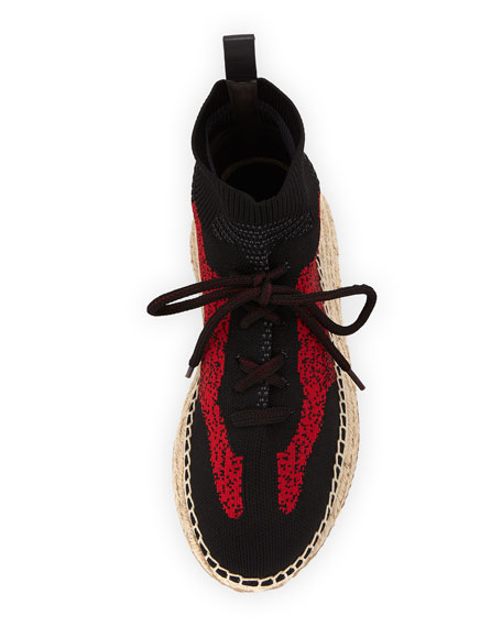 Dakota Knit High-Top Sneakers