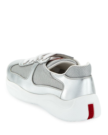 America's Cup Metallic Trainer Sneakers