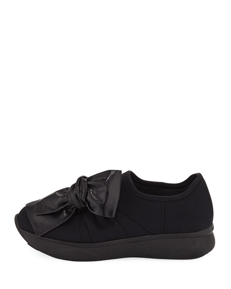 Stretch Slip-On Trainer Sneakers