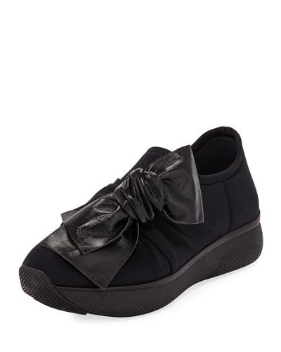Stretch Slip-On Trainer Sneaker