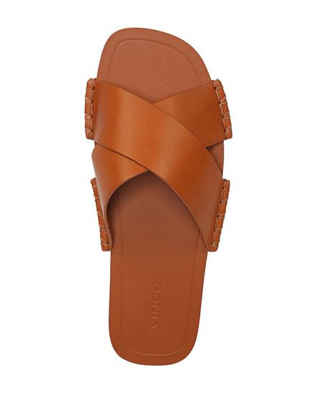 Nico Flat Crisscross Slide Sandal