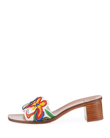 Bianca Flower Slide Sandal