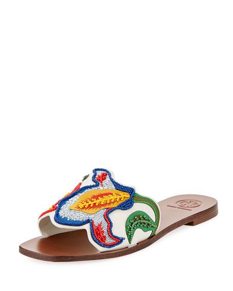 Bianca Flat Slide Sandal