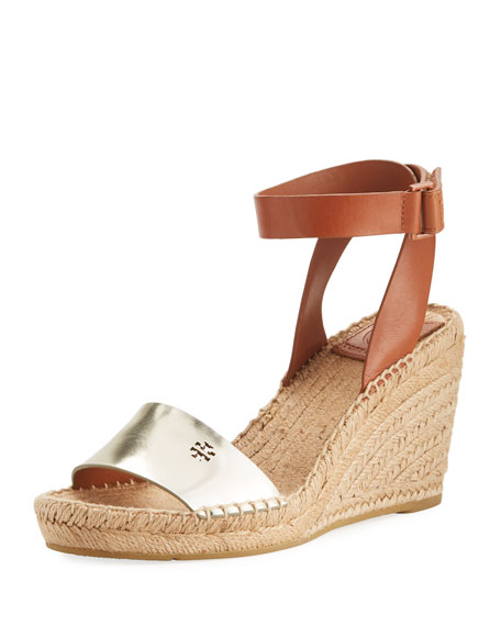 Bima Two-Tone Wedge Espadrille