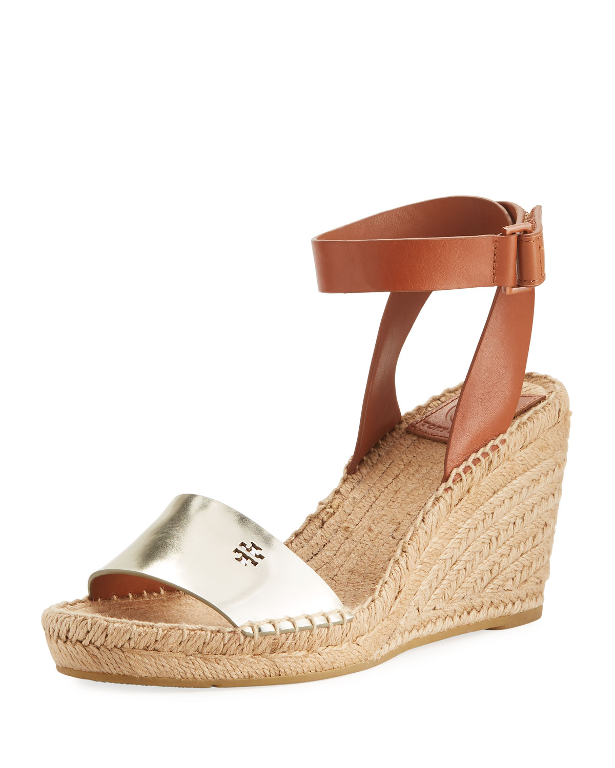 1f82b024ea27 Tory Burch Bima Two-Tone Wedge Espadrille