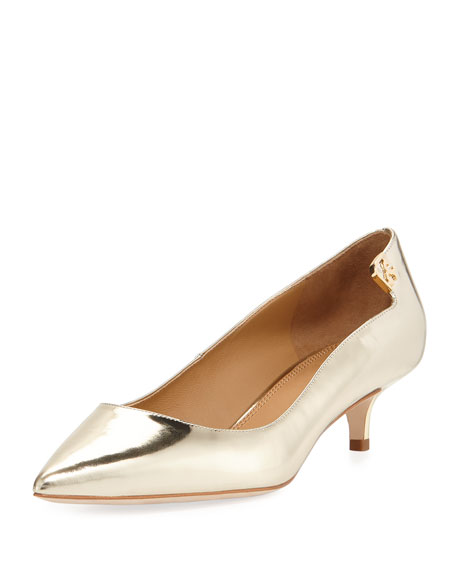 Tory Burch Elizabeth Leather 40mm Pump
