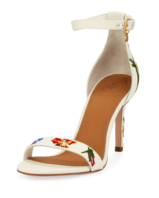 64cf0c3c321 Tory Burch Ellie Ankle-Strap Sandal