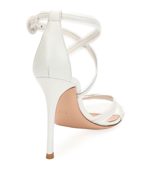 Bra Strap Napa Leather Sandal