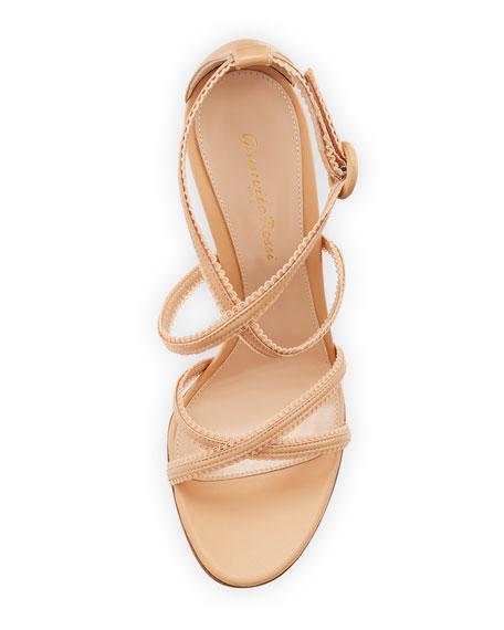 Bra Strap Lamb Leather Sandal