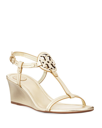 Miller Medallion Wedge Sandal