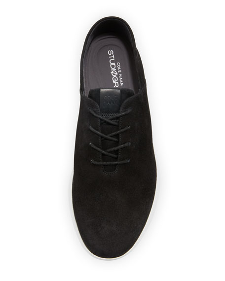 Grand Horizon Lace-Up Sneakers, Black