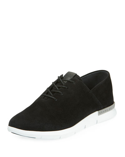 Grand Horizon Lace-Up Sneaker, Black