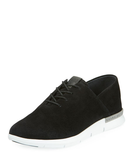 Cole Haan Grand Horizon Lace-Up Sneakers, Black