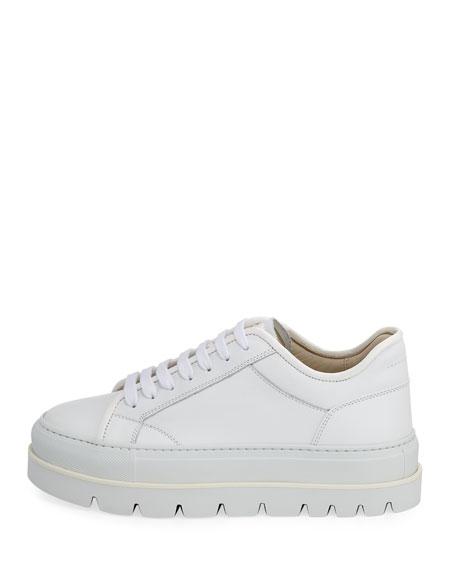 Leather Chunky Platform Sneaker