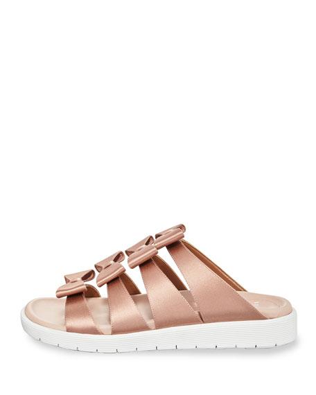 Rosabella Satin Bow Sneaker Sandal