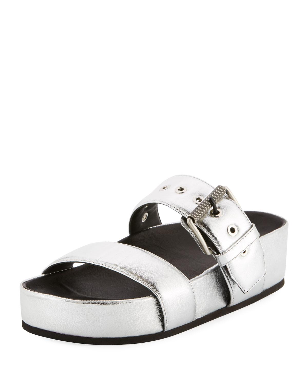 74e515edd5fc Rag   Bone Evin Metallic Platform Sandals