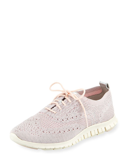 Cole Haan ZeroGrand StitchLite Oxford, Peach Blush