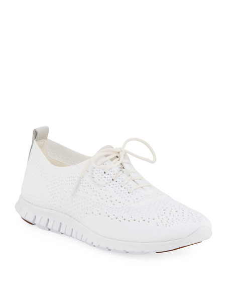 Cole Haan ZeroGrand StitchLite Oxford, Optic White