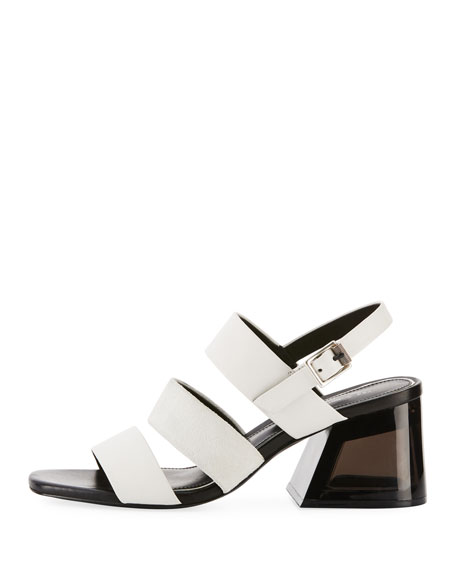 Reese Three-Strap City Sandal