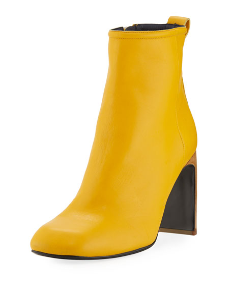 Rag & Bone Ellis Italian Leather Boot, Citrus