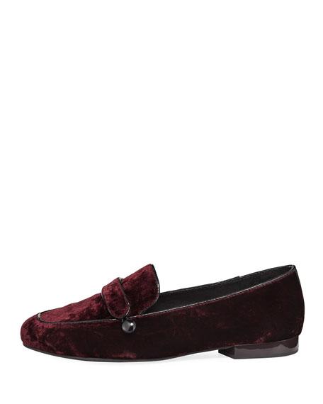 Haven Velvet Flat Loafer