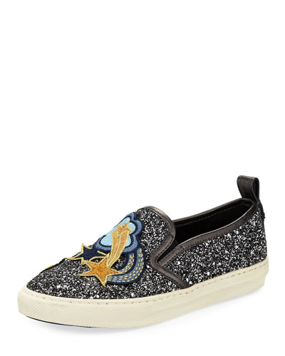 Shooting Star Glitter Sneakers