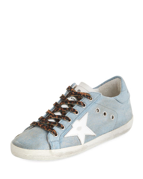 Superstar Jeans Denim Low-Top Sneakers
