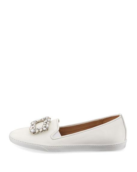 Fan Ornament Napa Slip-On Sneakers