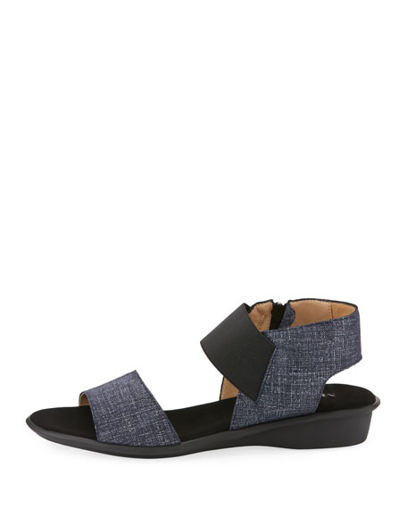 Elki Comfort Denim Sandal, Blue