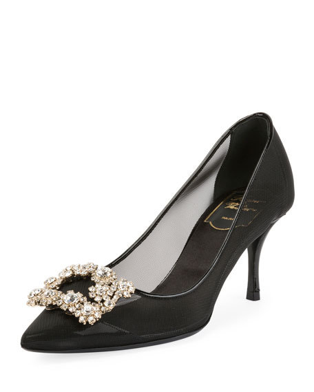 65mm Strass Mesh Pump