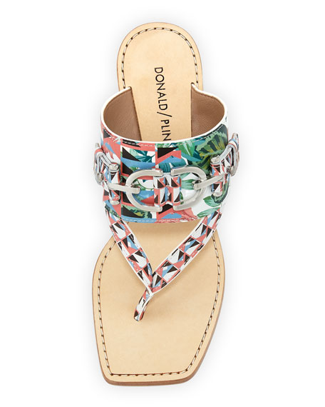 Mimi Jungle Thong Sandal