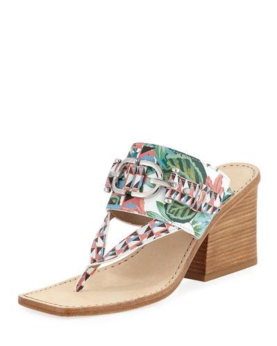 Mimi Jungle Thong Sandal