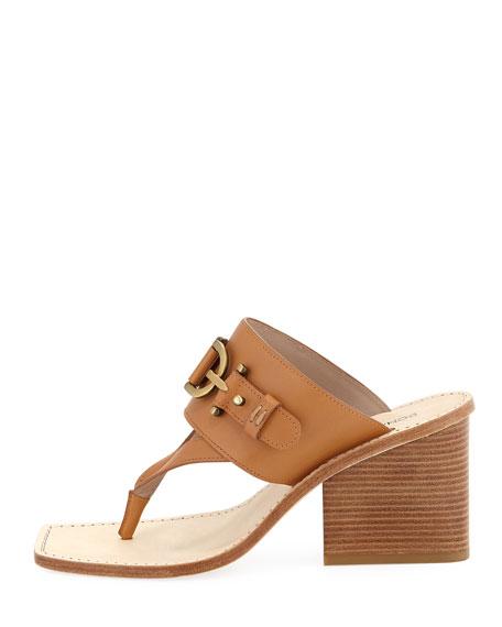 Mimi T-Strap Thong Sandal