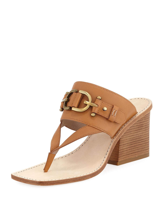 316832224 Donald J Pliner Mimi T-Strap Thong Sandal