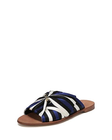 Diane von Furstenberg Bella Flat Slide Sandal with