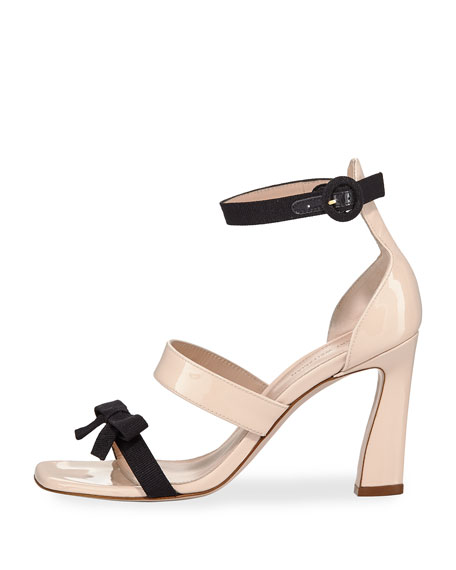 Three-Band Two-Tone Sandal