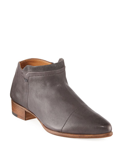 Serafina Leather Ankle Boots
